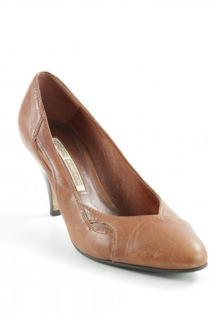 Buffalo High Heels cognac Elegant