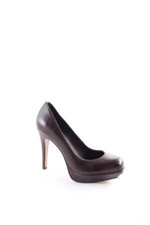 Buffalo High Heels dunkelbraun klassischer Stil