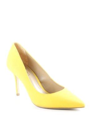 Buffalo Tacco alto giallo stile classico
