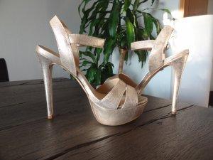 BUFFALO High Heels, Gr. 38, gold, NEU!!