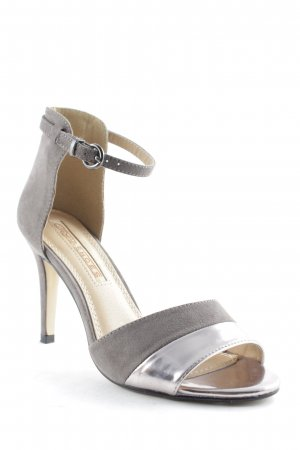 Buffalo High Heels grau-silberfarben Elegant