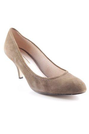 Buffalo High Heels graubraun Casual-Look