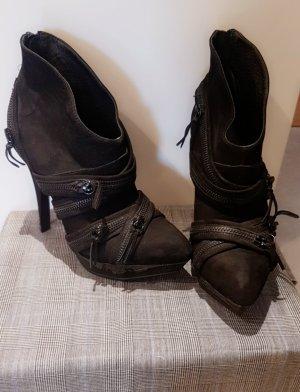 Buffalo High Heels, Größe 37, schwarz