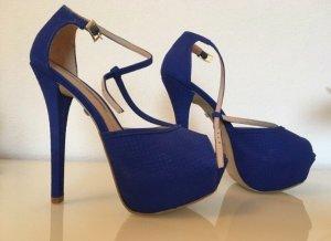 Buffalo High Heels Marineblau