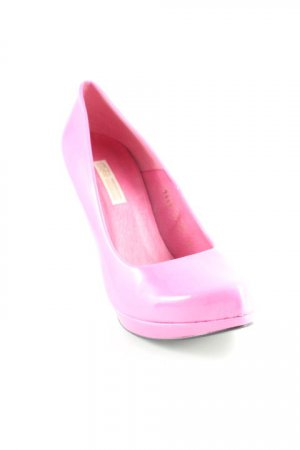 Buffalo High Heels pink Lack-Optik