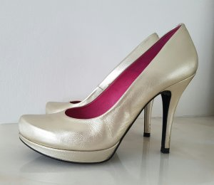 Buffalo High Heels Pumps gold Gr. 38