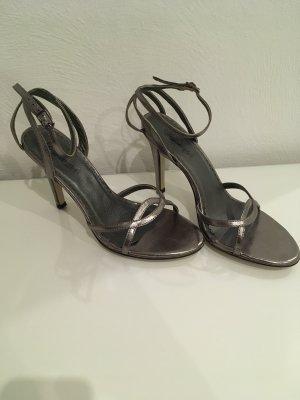 Buffalo high heels Pumps Silber grau Blogger Party 39 Hohe Schuhe