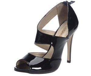 Buffalo High Heels, Sandaletten, 38, Lackleder, schwarz, Neu