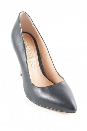 Buffalo High Heels schwarz Business-Look