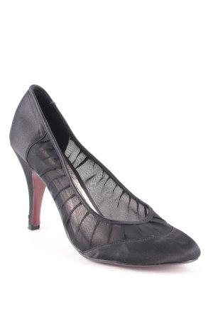 Buffalo High Heels schwarz Business-Look