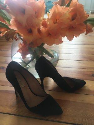 Buffalo High heels schwarz  *wildleder*