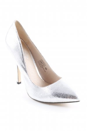 Buffalo High Heels silberfarben Elegant