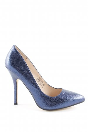 9ec7ade0d67de6 Buffalo High Heels stahlblau Party-Look
