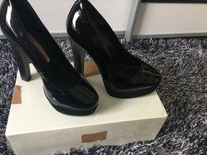 Buffalo Highheels Absatz Pumps Schuhe Gr 36 schwarz