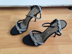 Buffalo Highheels schwarz Strass
