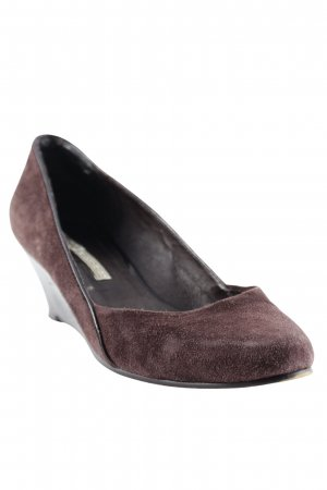 Buffalo Keil-Pumps braun Casual-Look