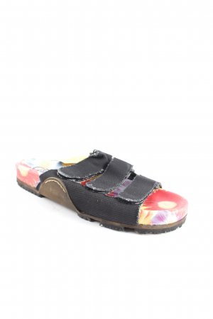 Buffalo Comfort Sandals flower pattern extravagant style