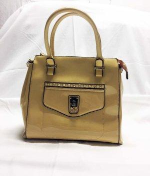 249d205f23cee Buffalo Lack-Handtasche hellbeige