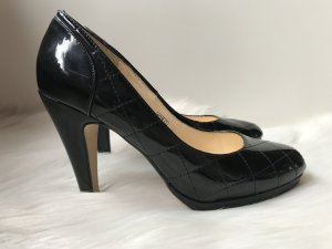 Buffalo Lackleder Pumps in schwarz