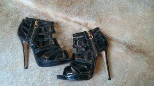 Buffalo Leder high heels 39