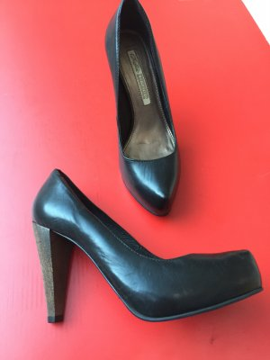 Buffalo Leder High Heels