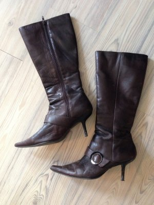 Buffalo +++++ Leder STIEFEL +++ only Tango Fashion Stiefeletten