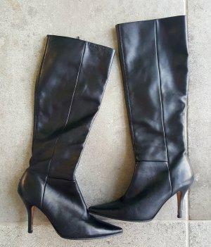 Buffalo ,Leder  Stiefel ,schwarz Größe 39
