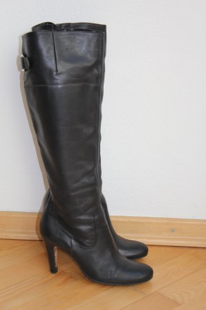 Buffalo Lederstiefel, schwarz, Gr. 38 *hervorragender Zustand*