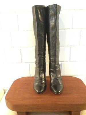 Buffalo Lederstiefel Stiefel Lederschuhe Leder Herbst Herbststiefel Größe 41