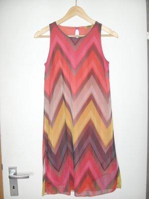 Buffalo Chiffon jurk veelkleurig Polyester