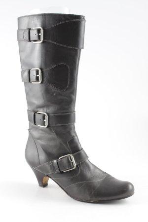 Buffalo London Absatz Stiefel dunkelgrau Elegant