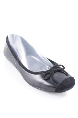 Buffalo London Ballerinas mit Spitze schwarz sportlicher Stil