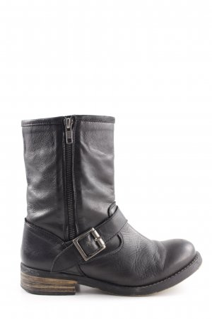 Buffalo London Boots schwarz Casual-Look