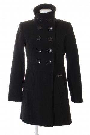 Buffalo London Cabanmantel schwarz klassischer Stil