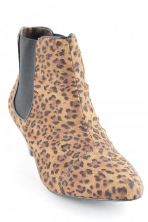Buffalo London Chelsea Boots hellbraun Animalmuster Party-Look