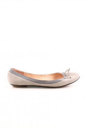 Buffalo London Foldable Ballet Flats natural white-light grey casual look
