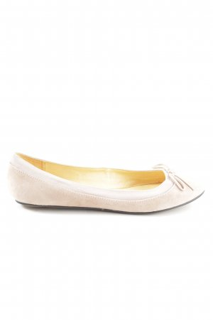 Buffalo London Foldable Ballet Flats cream casual look