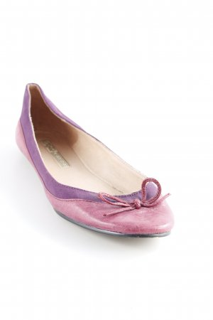 Buffalo London faltbare Ballerinas mehrfarbig Romantik-Look