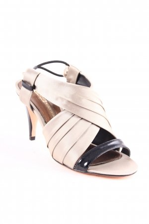 Buffalo London High Heel Sandal beige-black elegant