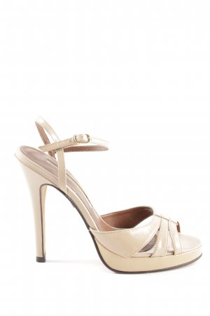 Buffalo London High Heel Sandaletten creme Elegant