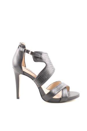 Buffalo London High Heel Sandaletten schwarz Casual-Look