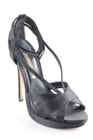 Buffalo London High Heel Sandaletten schwarz klassischer Stil