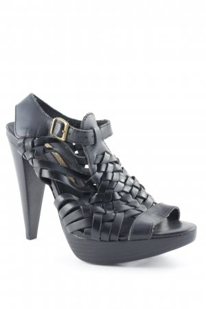 Buffalo London High Heel Sandaletten schwarz Party-Look