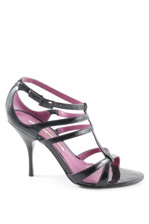 Buffalo London High Heel Sandaletten schwarz-violett Elegant