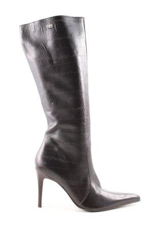 Buffalo London High Heel Stiefel schwarz Elegant