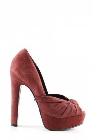 Buffalo London High Heels rot Elegant