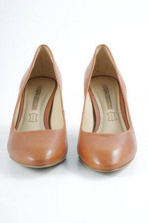 Buffalo London High Heels cognac-creme Business-Look