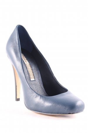 Buffalo London High Heels dunkelblau 90ies-Stil