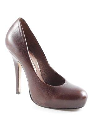 Buffalo London High Heels dunkelbraun klassischer Stil
