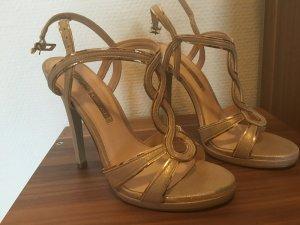 Buffalo London high heels Gold neu